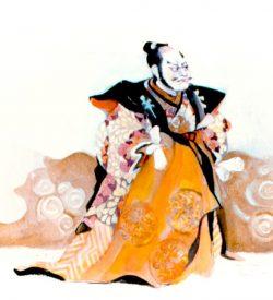 THE MIKADO, PISH-TUSH costume design, 1982