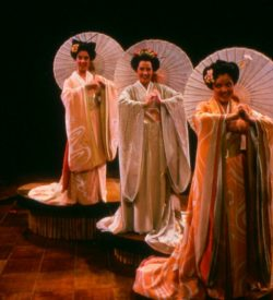 THE MIKADO, costume design, THREE LITTLE GIRLS, 1982