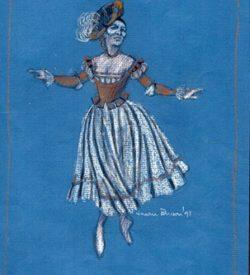 TAMING OF THE SHREW, Masquerade Dancer