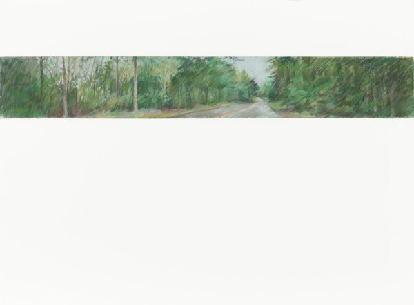 Salt Spring Road, 22.5x30 pastel on Arches paper