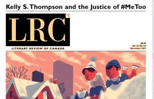 LITERARY REVIEW of CANADA, Curtain Call, Keith Garebian, Dec/2019