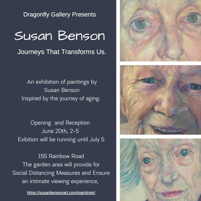 Dragonfly Gallery PresentsSUSAN BENSON,JUNE 20, 2020