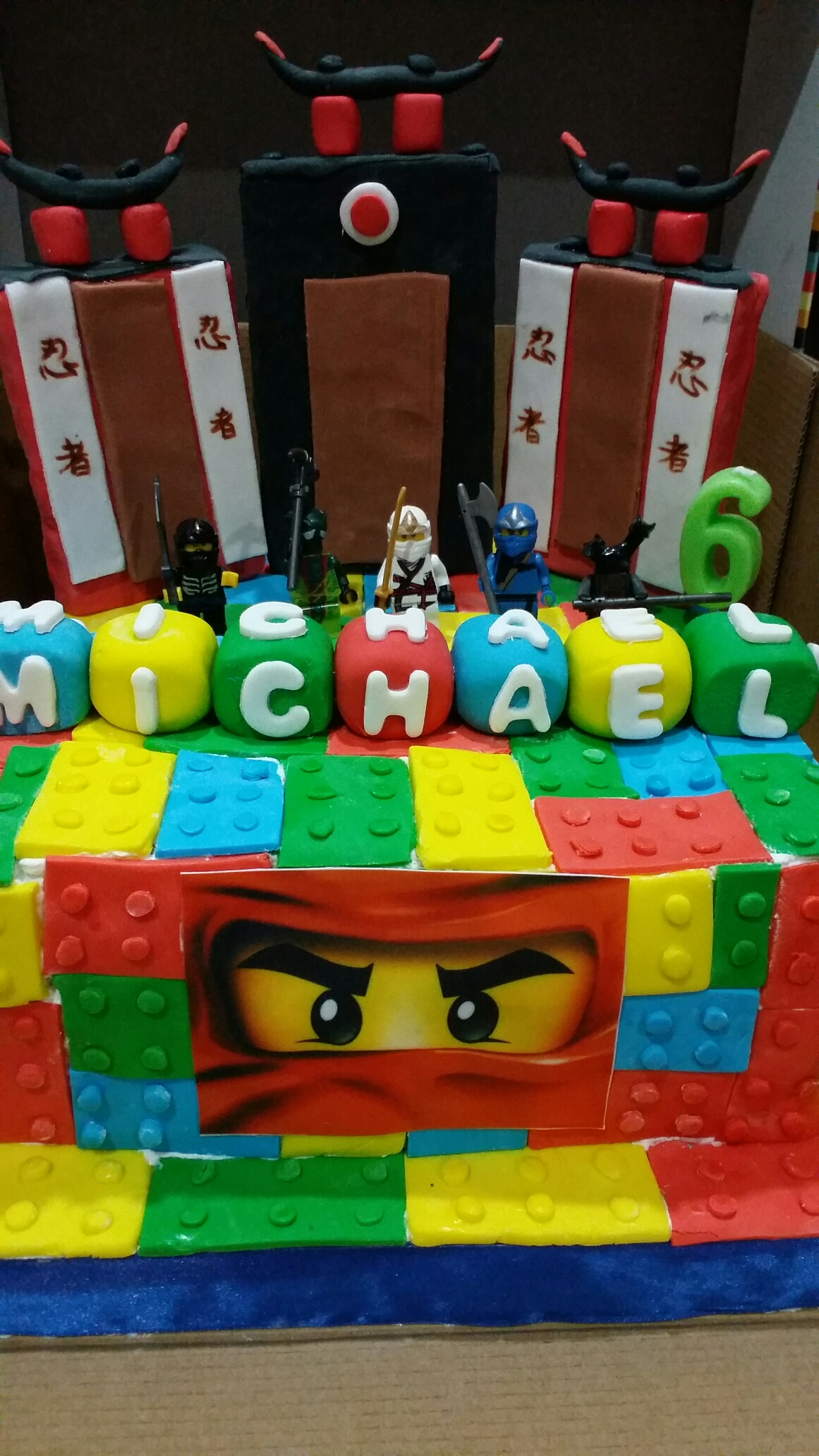 Lego Ninjago Birthday Cake Susan Cake Shop