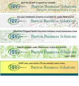 Banner Ads for Accounting Firm