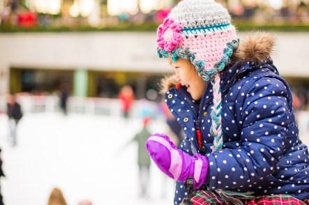 Ice skating at Rockefeller