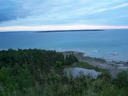 Lake MI from hill