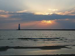 Lake MI sunset (7)