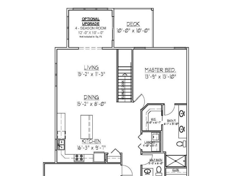 Floor Plans of Sawgrass Condos in Holland, MI