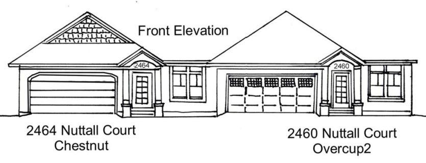 22-2460-Front Elevation