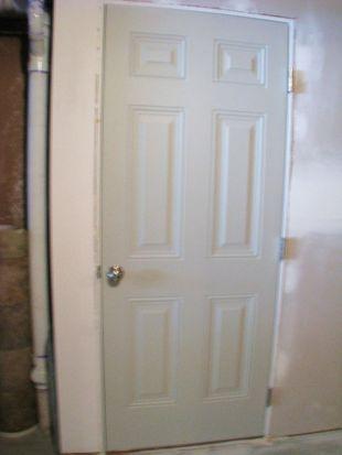 6-panel room door