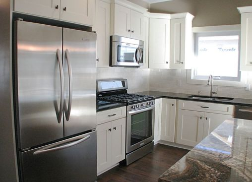2447 Nuttall Court-White cabinets with corner Mazy Susan