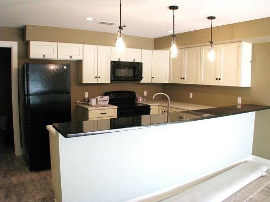 2447 Nuttall Court-Kitchen in lower level-Snack bar with hard surface counter