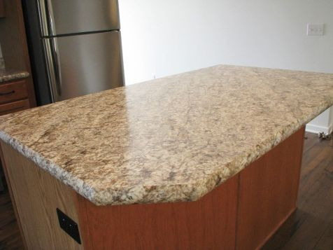 2444 Kitchen center island snack bar with formica counter