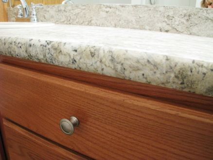 2444 Master bath formica counter on vanity