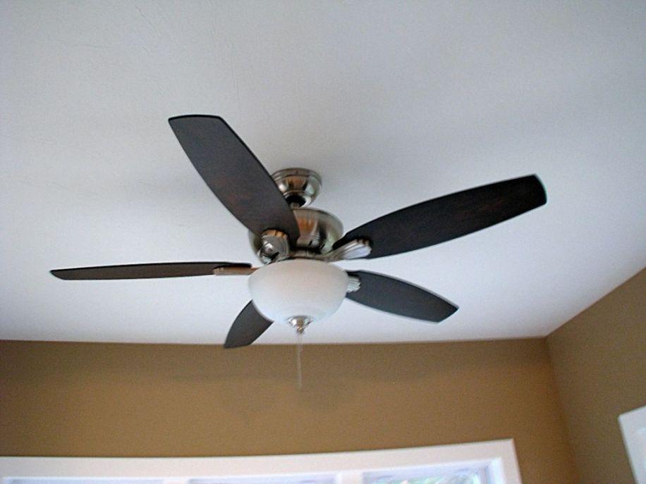 2437 Ceiling fan in 4-season room