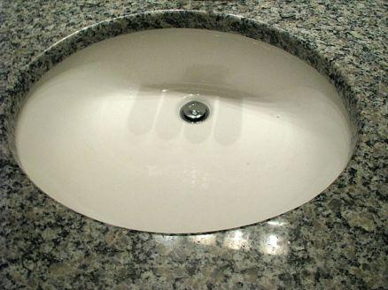 2506 Master bath sink in vanity