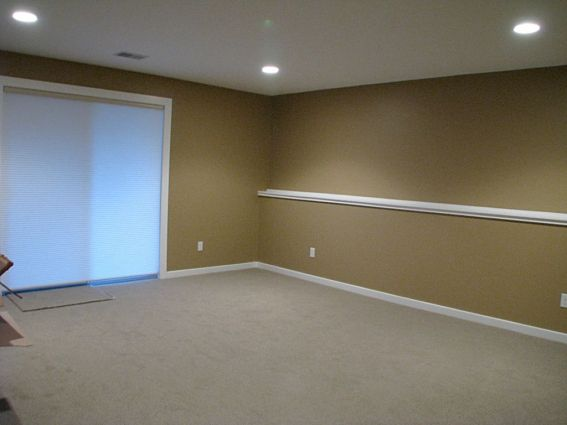 2437 Lower level family room with closet