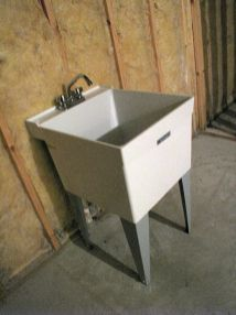 2506 Wash tub in unfinished lower level storage room