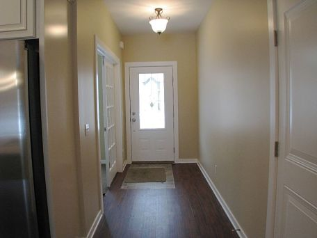 2419 Foyer, front door, french doors to flex room