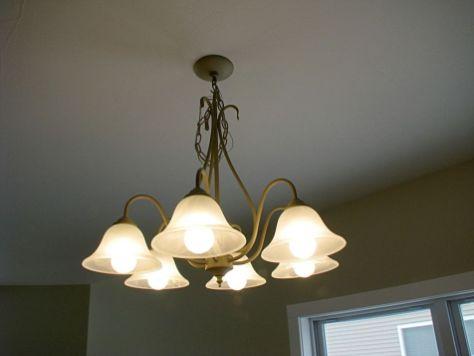 2518 Dining room light fixture