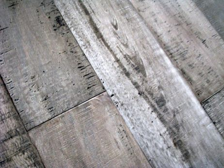 Close-up of laminate floor