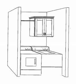 Artists Drawings of Laundry Room at Sawgrass Condos in Holland, MI