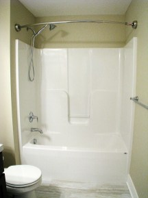 Full Bath-lower level-tub-hand held shower