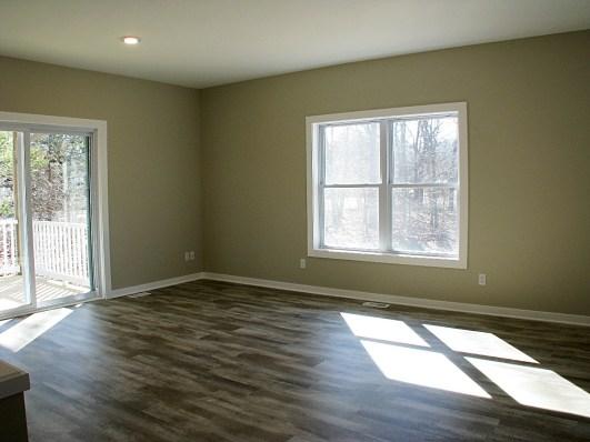Living Room-Slider to deck-oak hdwd floor