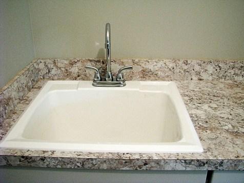 Plumbing-Laundry sink