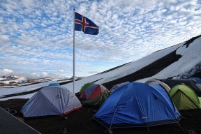 Hrafntinnusker Tents