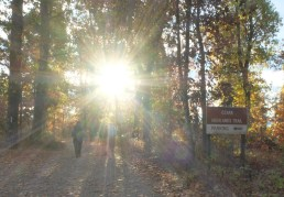 Day 3: Going into the light! (departing White Rock Mountain)