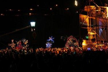 NYE 2012 Concert Crowd