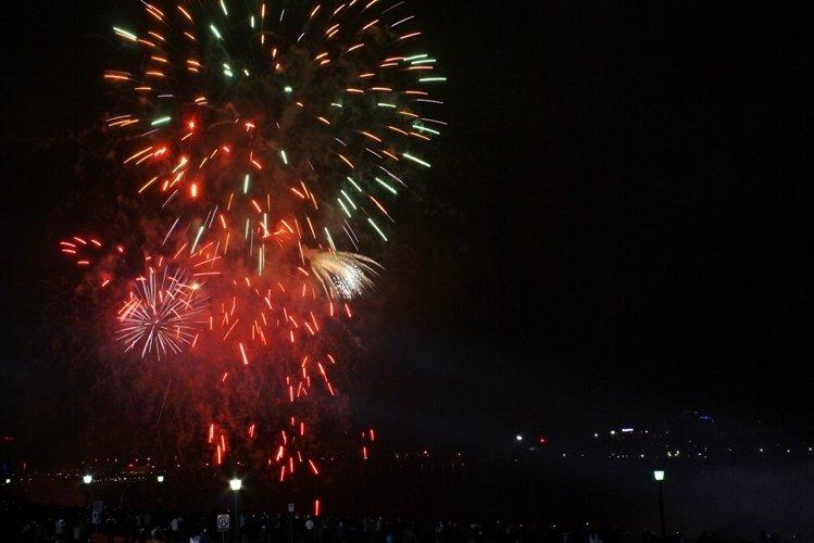 NYE 2012 Fireworks