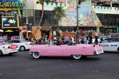 Bridal Party Pink Cadillac