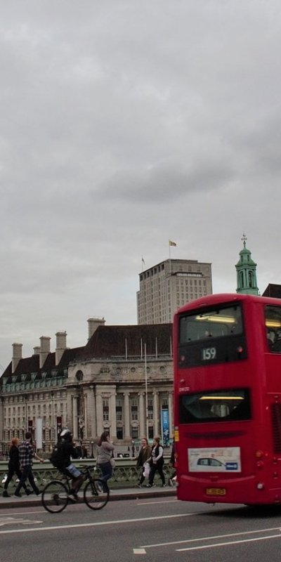 Classic London sights from the Westminster Bridge