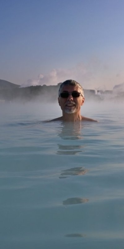 Paul in the Blue Lagoon