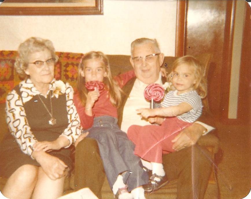 with grandma and grandpa hatteberg