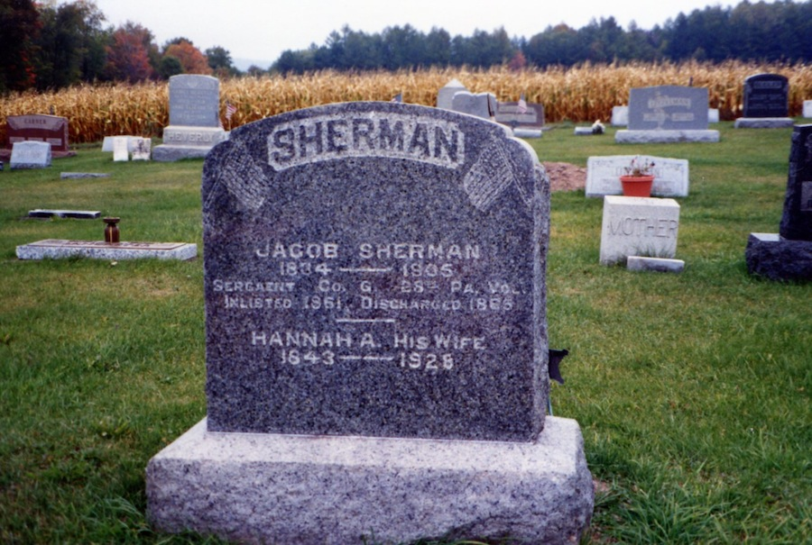 Sherman Gravestones, part 2 (1/6)