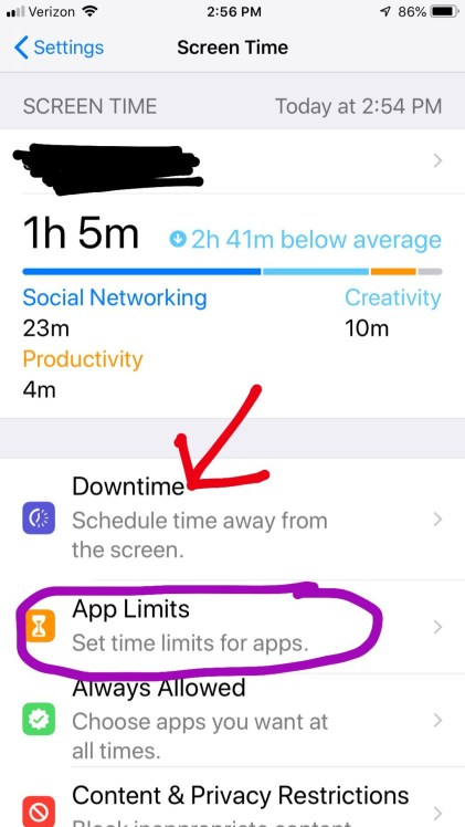 It's easy to monitor how much time you're spending on your phone