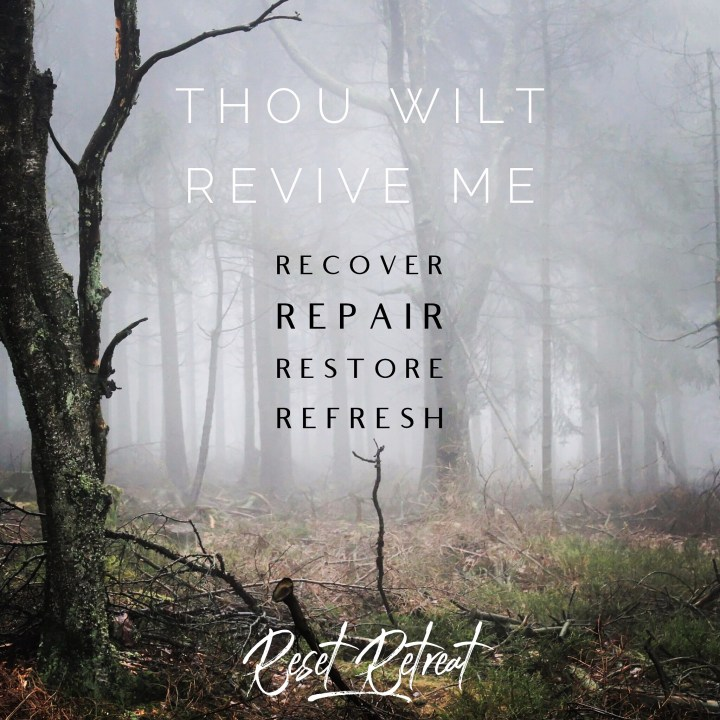 Retreat, restore, recover