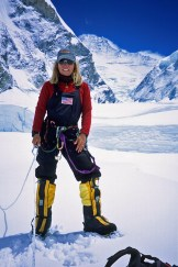 Susan Ershler on Everest