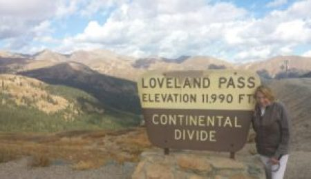 Image of Susan Fornoff at Loveland Pass