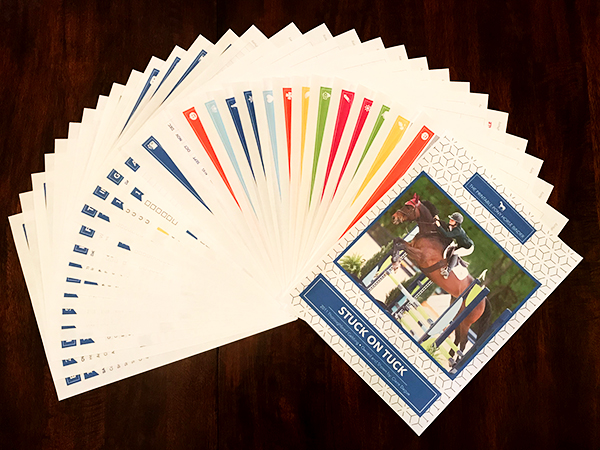 The Equine Records Printable Pack Tracks Health Trailer Care Horse Show Packing More