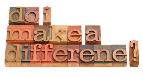 Make a Difference Now?