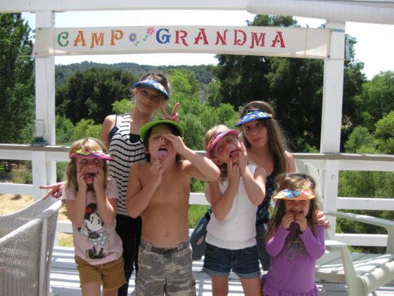 Camp Grandma Tips and Ideas