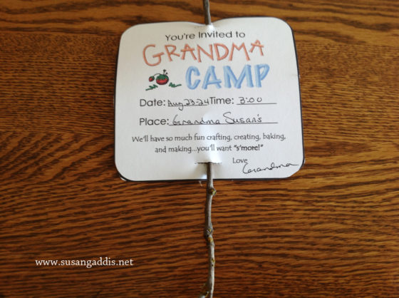 Camp Grandma 2013