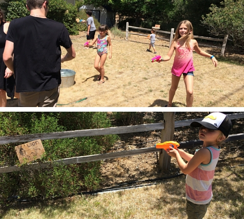 Squart gun safari at Camp Grandma 2016
