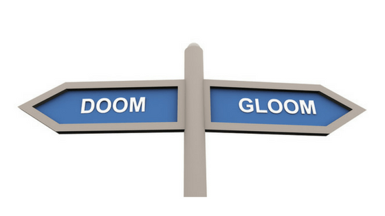 How to deal with doom, gloom and dread of the enemy