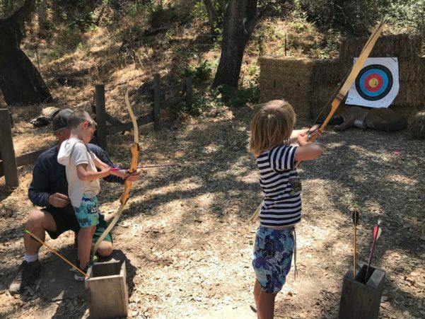 Camp Grandma 2018 archery