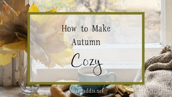 How to make autumn cozy